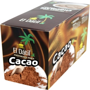 Cacao soluble estuche El Datil